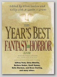 Cover for Year's Best Fantasy and Horror #19